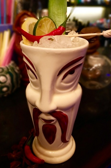 world baijiu day 2016 beijing tiki bungalow goodbye fu manchu cocktail