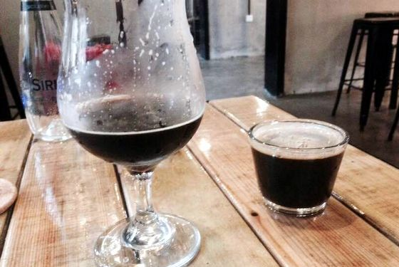 world baijiu day 2016 dark plum baijiu infusion milk chocolate stout we brewing tianjing