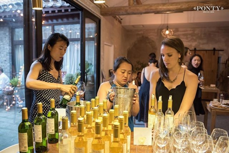 grape wall of china interview with helene ponty photos beijing event