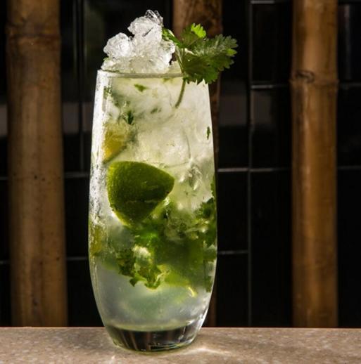 world baijiu day 2016 cocktails deng g coriander mojito