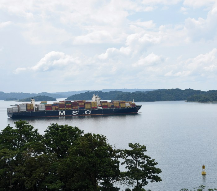 ©Rob Bertholf The Panama Canal has been keen to push for greener ships, albeit without huge incentives for owners