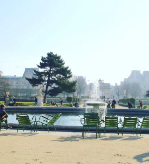 Jardin des Tuileries amazing view