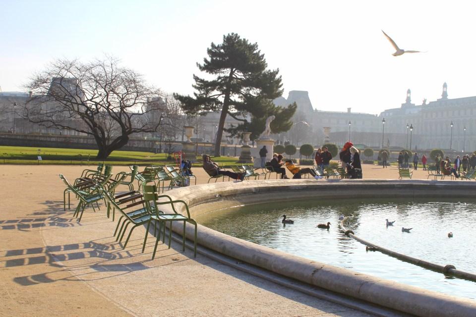 Ogrody Tuileries w Paryżu