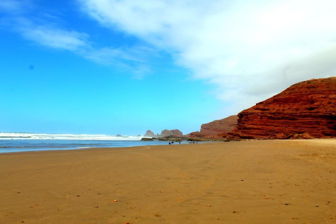 Legzira beach in Morocco