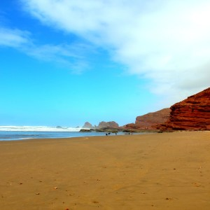 Legzira beach in Morocco