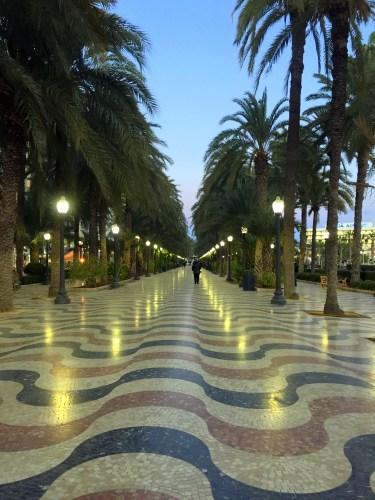 Explanada de España Alicante