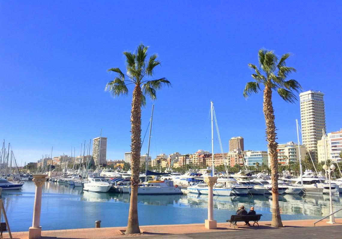 Escalera de la Reina, Alicante Marina
