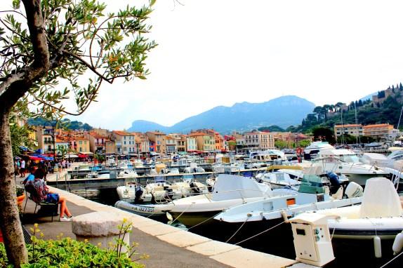 Port w Cassis
