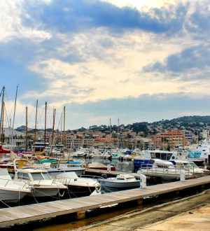 The port of La Ciotat