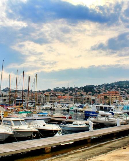 The port of La Ciotat