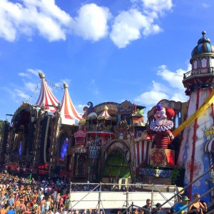 Main stage of Tomorrowland 2017