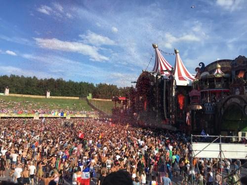 Scena główna na Tomorrowland