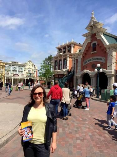 Main Street w Disneyland