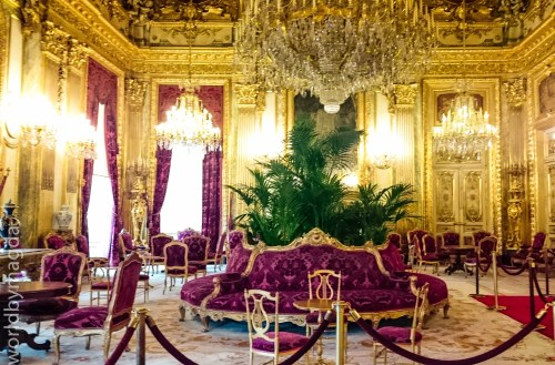 Appartements of Napoleon III in Louvre