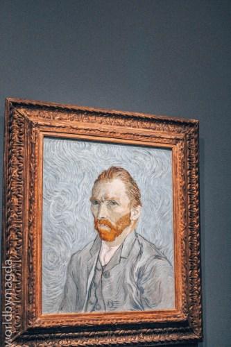 Autoportret Vincent van Gogh w Muzeum Orsay