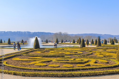 Geometric forms in the Versailles Gardens