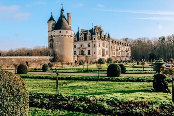 Zamki nad Loarą - Zamek Chenonceau