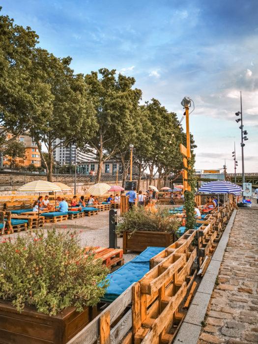 najlepsze beach bary w Paryżu