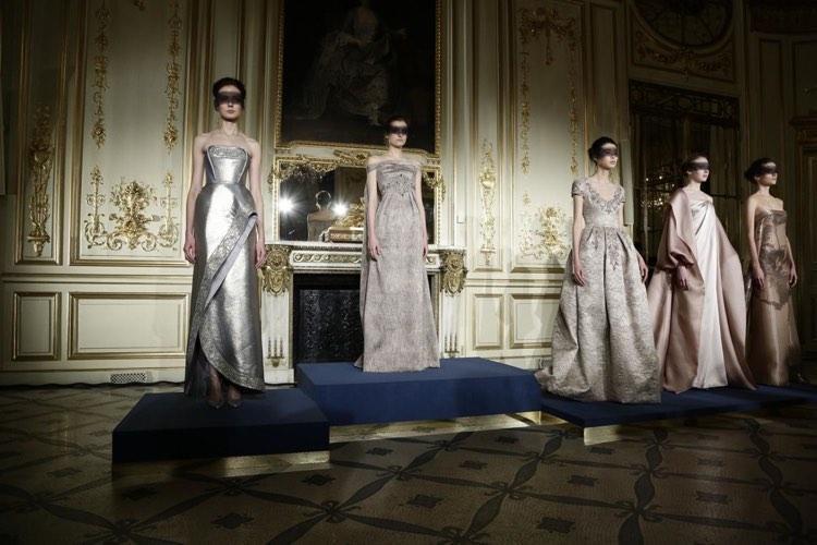 Pokazy kolekcji w Paryżu