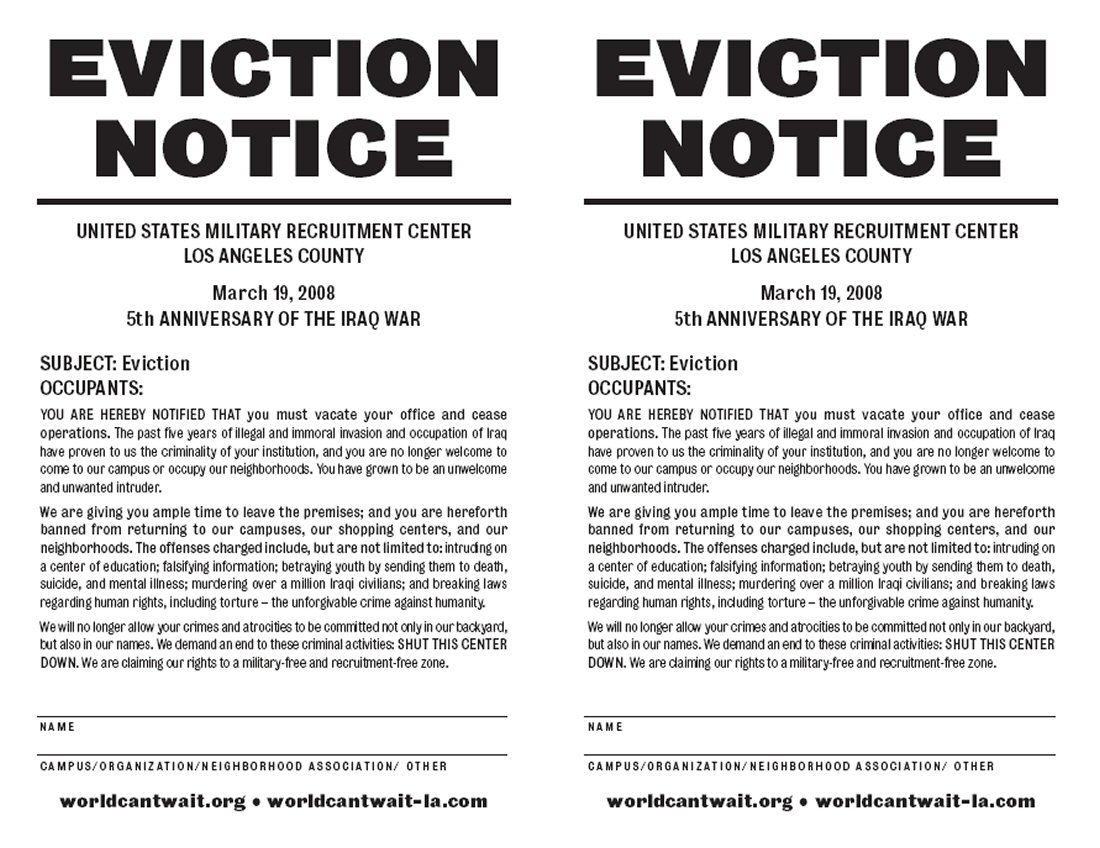 Eviction Notice Texas Template to vacate create a free letter in – Eviction Notice Template