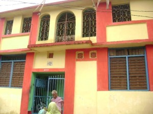 Sasmita's childhood home