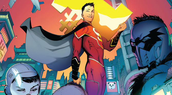 New Super-Man #1 (review)