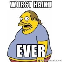 Ten Famous Comics in Haiku