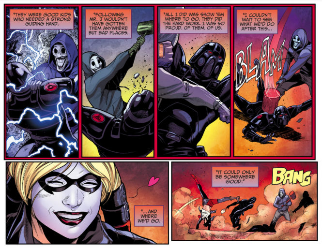 One Notable Takeaway From The Series Is That It Doesnt Overly Romanticize Harley Quinns Relationship With Joker A Voguish And Distasteful Evolution