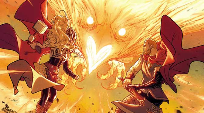 Phoenix and the Three Thors: The Mighty Thor #19-21 (Review)