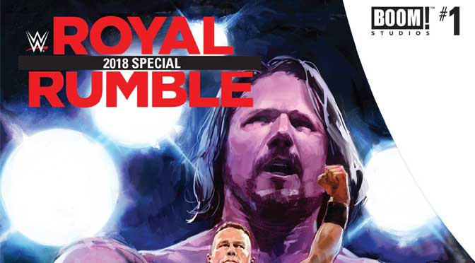 WWE Royal Rumble Special 2018 #1 (Review)
