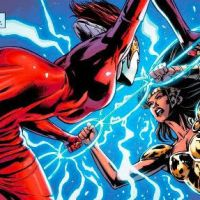 Exhuming Promethea and The Authority - Dark Knights: The Wild Hunt #1 v Justice League # 24 (comparative review)