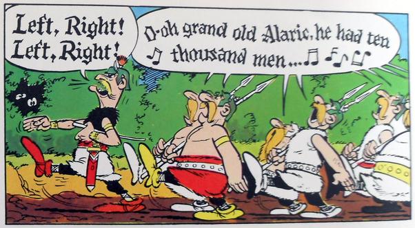 "The popularity of Asterix – ""Asterix et la Transitalique """