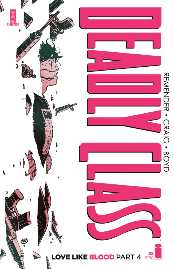 Deadly Class volume 7 - Love Like Blood (Review)
