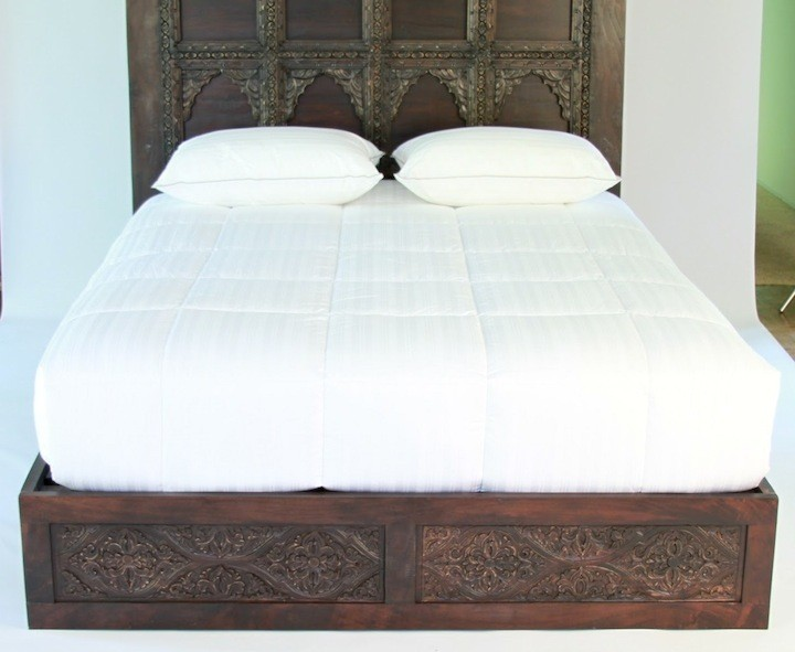 Carved Bed Frame