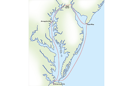 ARC DelMarVa Route