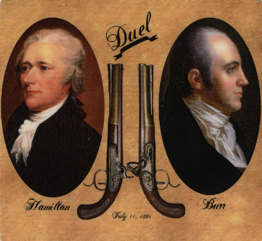 Image result for the hamilton burr duel in 1804