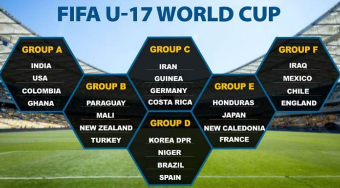 FIFA U-17 World Cup 2017 Schedule