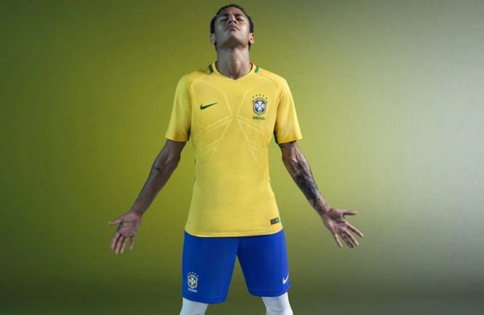 Brazil 2018 FIFA World Cup Jersey