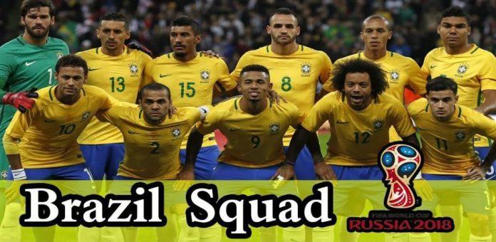 Brazil 2018 Football World Cup squad