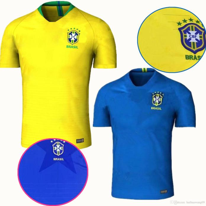 Brazil 2018 jersey for World Cup