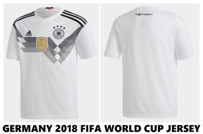 Jersey of Germany For 2018 FIFA World Cup