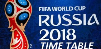 Fifa World cup 2018 Schedule in Malaysia