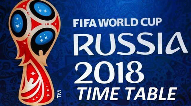 World Cup 2018 Groups Wallpaper