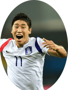 Lee Keun-ho is a South Korean football player who plays for Gangwon FC and South Korea national team. His pace, work-rate, and link-up plays mark him as a highly rated forward in Asia.
