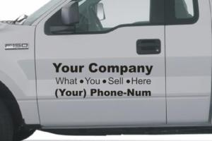 Vehicle Lettering 01