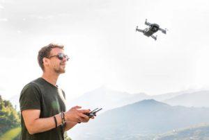 solo-piloting a drone