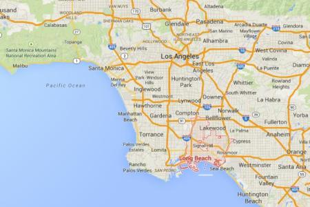 map long beach » Free Wallpaper for MAPS | Full Maps