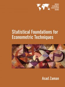 Cover of Statistical Foundations for Econometric Techniques