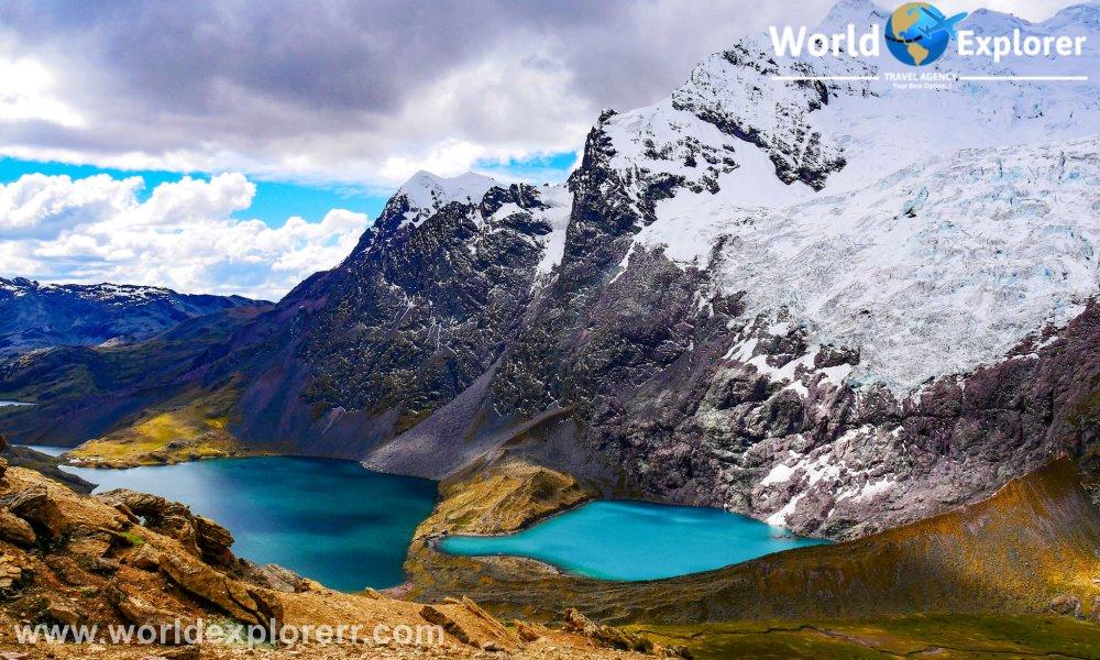 El Tour Ausangate 7 lagunas es un hermoso tour, donde usted podrá visualizar varias lagunas de color verde turquesa, pertenecientes a la Cordillera.