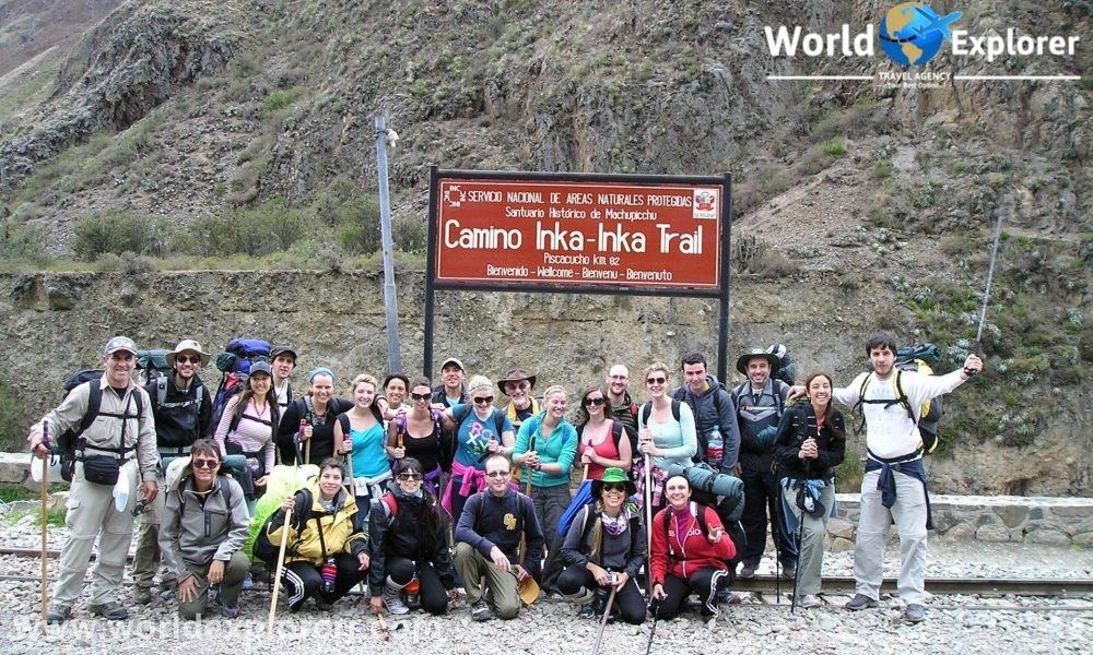 Camino inca a machu picchu durante 04 dias, excursion por los andes peruanos unico camino que nos lleva a machu picchu.